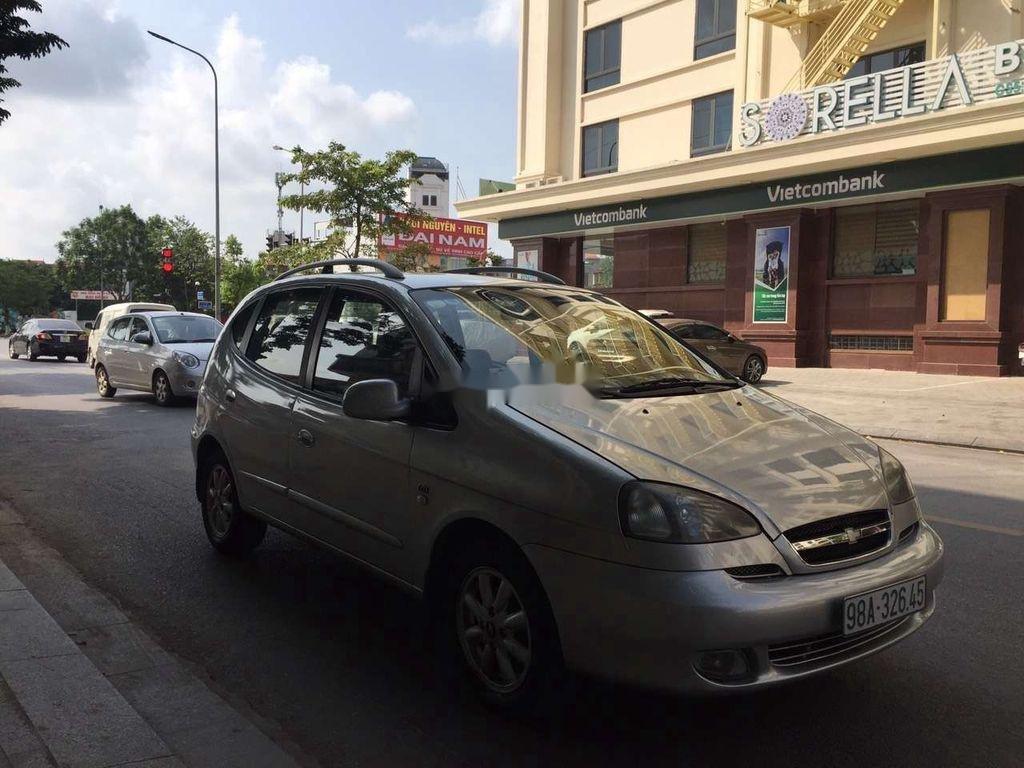 Cần bán Chevrolet Vivant sản xuất năm 2008, màu bạc  (2)