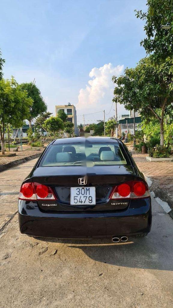 Cần bán Honda Civic sản xuất 2007, màu đen, số tự động (4)