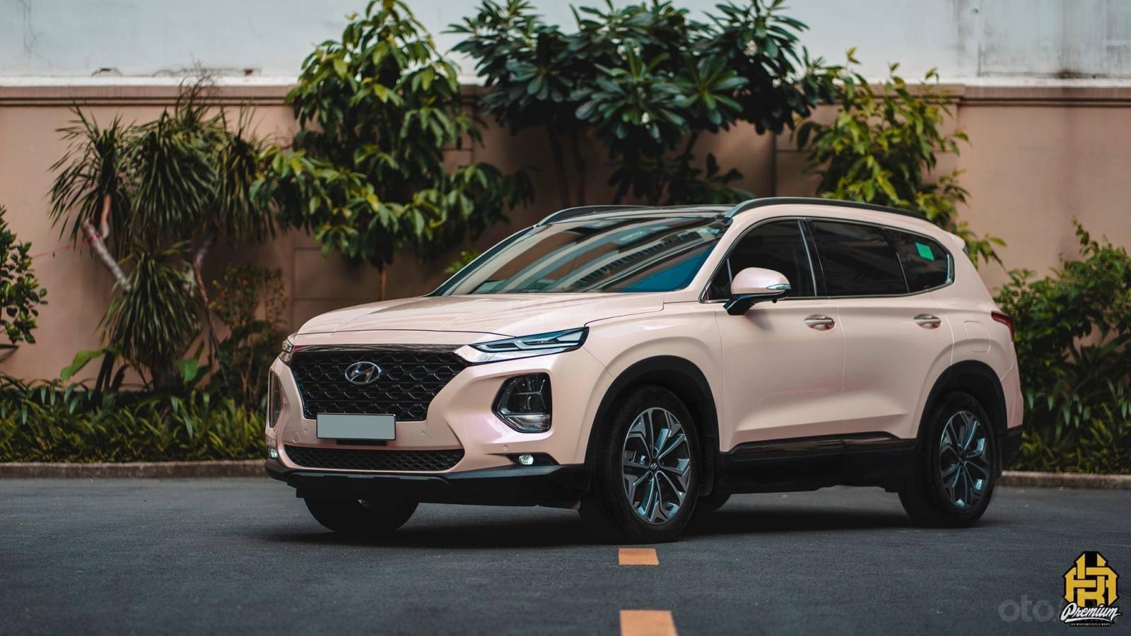 Bán Hyundai Santa Fe 2020 chỉ từ 293 triệu - ưu đãi lớn, giảm giá tiền mặt + tặng kèm phụ kiện chính hãng (2)