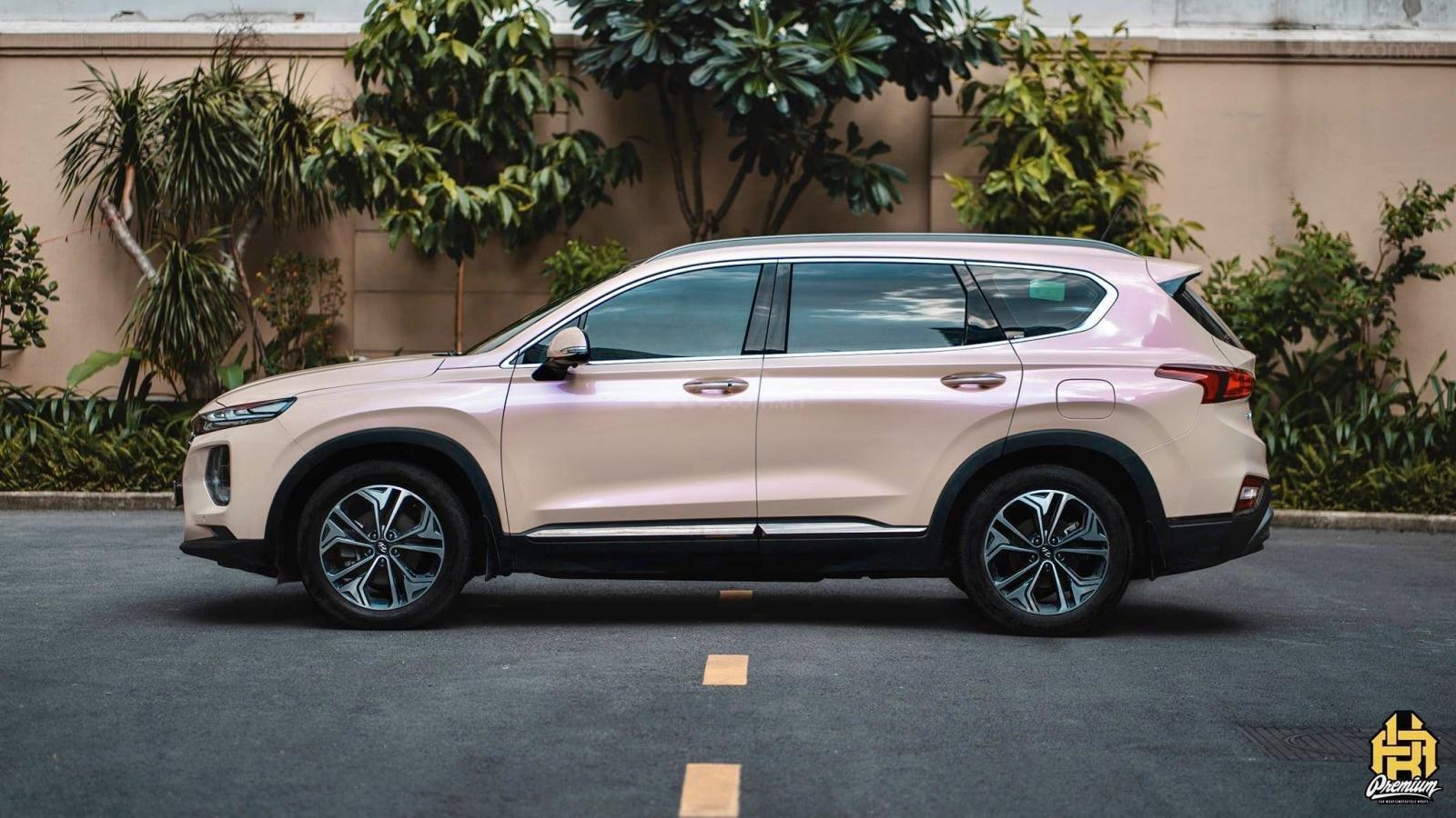 Bán Hyundai Santa Fe 2020 chỉ từ 293 triệu - ưu đãi lớn, giảm giá tiền mặt + tặng kèm phụ kiện chính hãng (4)