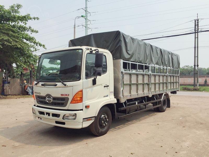 Xe tải FC (2020) với bản thùng dài 7,3m, tải trọng 6 tấn (4)