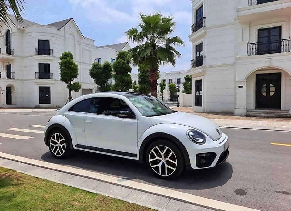 Cần bán xe Volkswagen Beetle Dune 2.0 đời 2018, màu trắng, nhập khẩu nguyên chiếc (1)