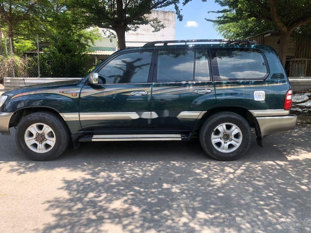 Bán xe Toyota Land Cruiser sản xuất 2003, màu xanh lam, xe nhập còn mới, giá chỉ 305 triệu (3)