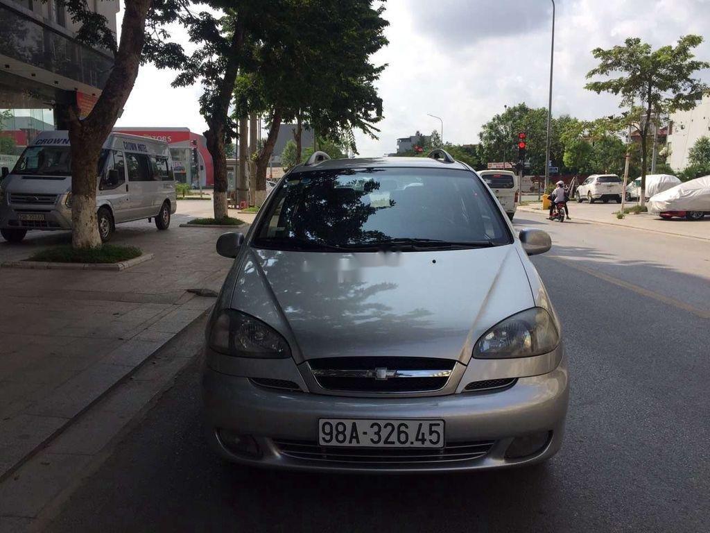 Cần bán Chevrolet Vivant sản xuất năm 2008, màu bạc  (1)