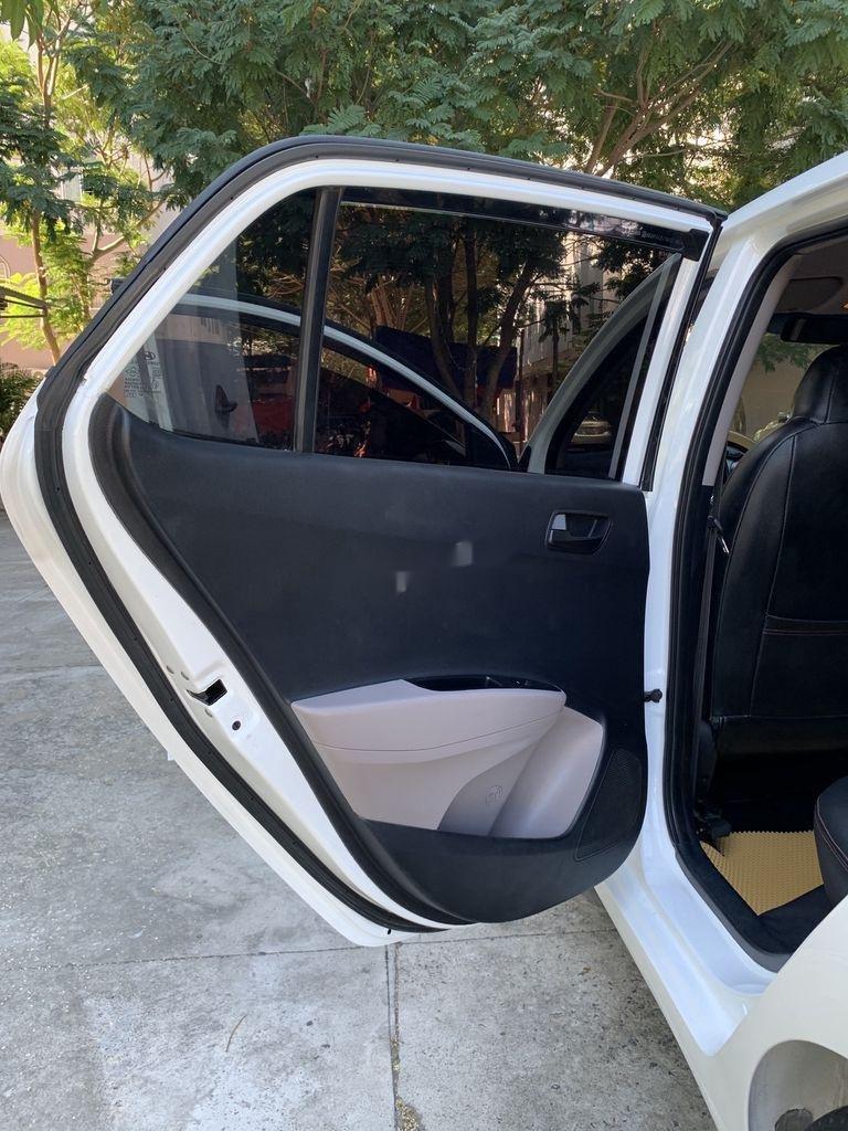 Cần bán lại xe Hyundai Grand i10 sản xuất 2015, màu trắng, nhập khẩu   (9)