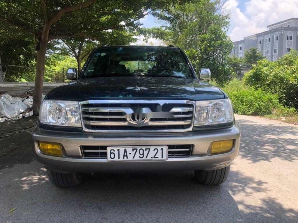 Bán xe Toyota Land Cruiser sản xuất 2003, màu xanh lam, xe nhập còn mới, giá chỉ 305 triệu (1)