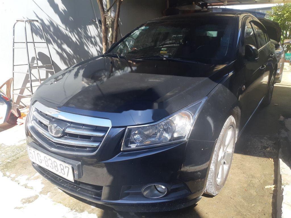 Cần bán Daewoo Lacetti sản xuất 2010, màu đen, xe nhập   (1)