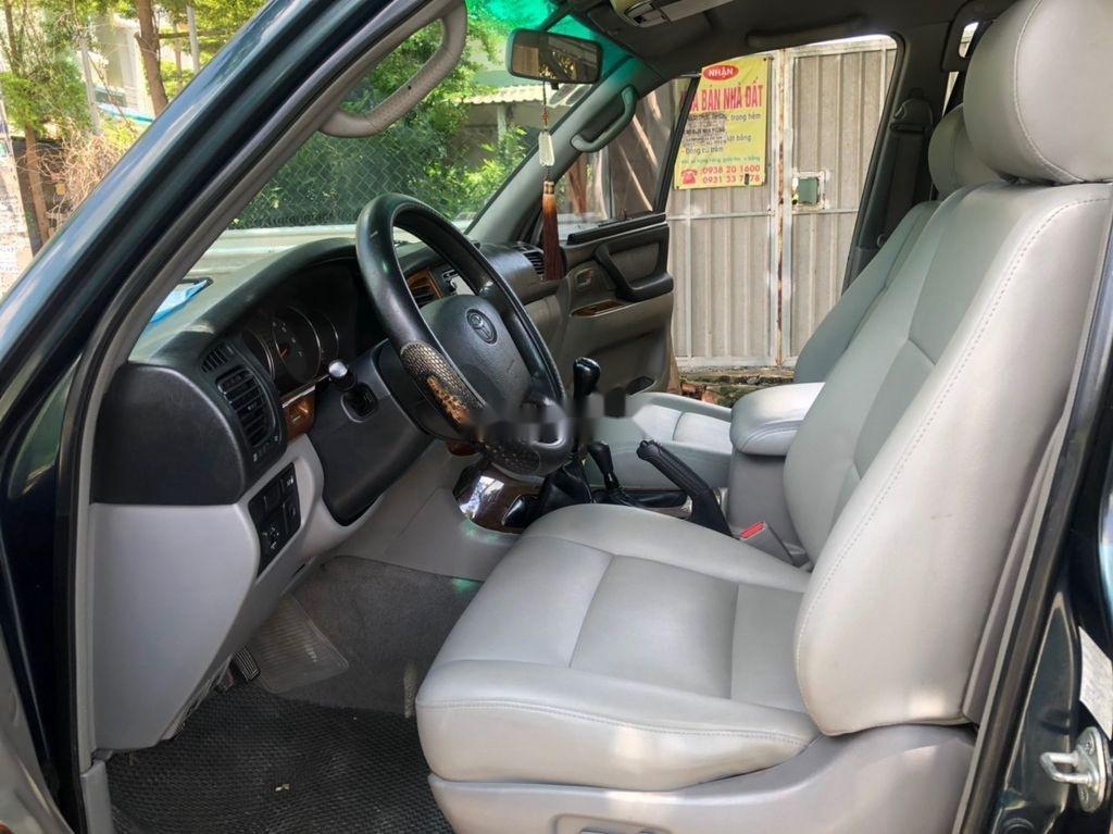 Bán xe Toyota Land Cruiser sản xuất 2003, màu xanh lam, xe nhập còn mới, giá chỉ 305 triệu (9)