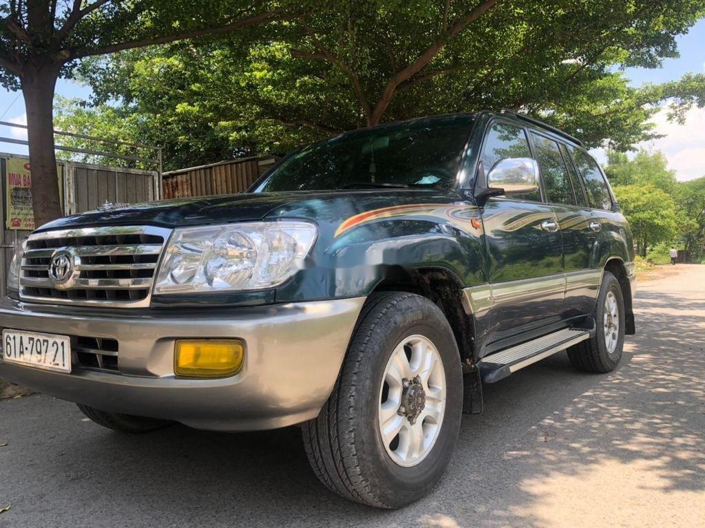 Bán xe Toyota Land Cruiser sản xuất 2003, màu xanh lam, xe nhập còn mới, giá chỉ 305 triệu (2)