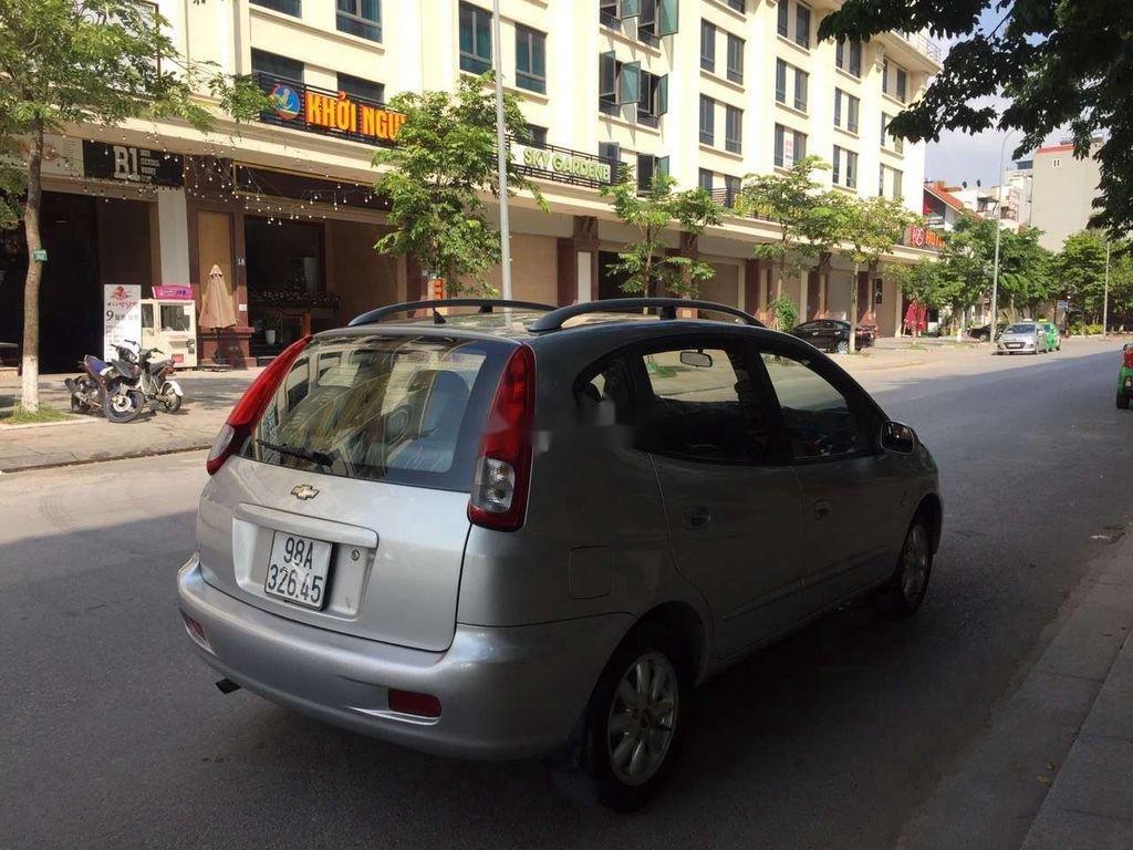 Cần bán Chevrolet Vivant sản xuất năm 2008, màu bạc  (5)