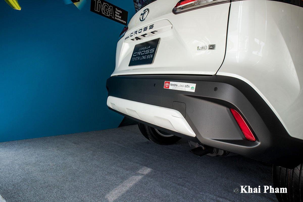 Ảnh Cản sau xe Toyota Corolla Cross 1.8G 2020 a1