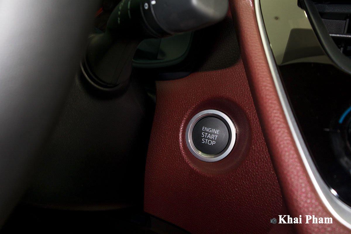 Ảnh Nút khởi động xe Toyota Corolla Cross 1.8G 2020
