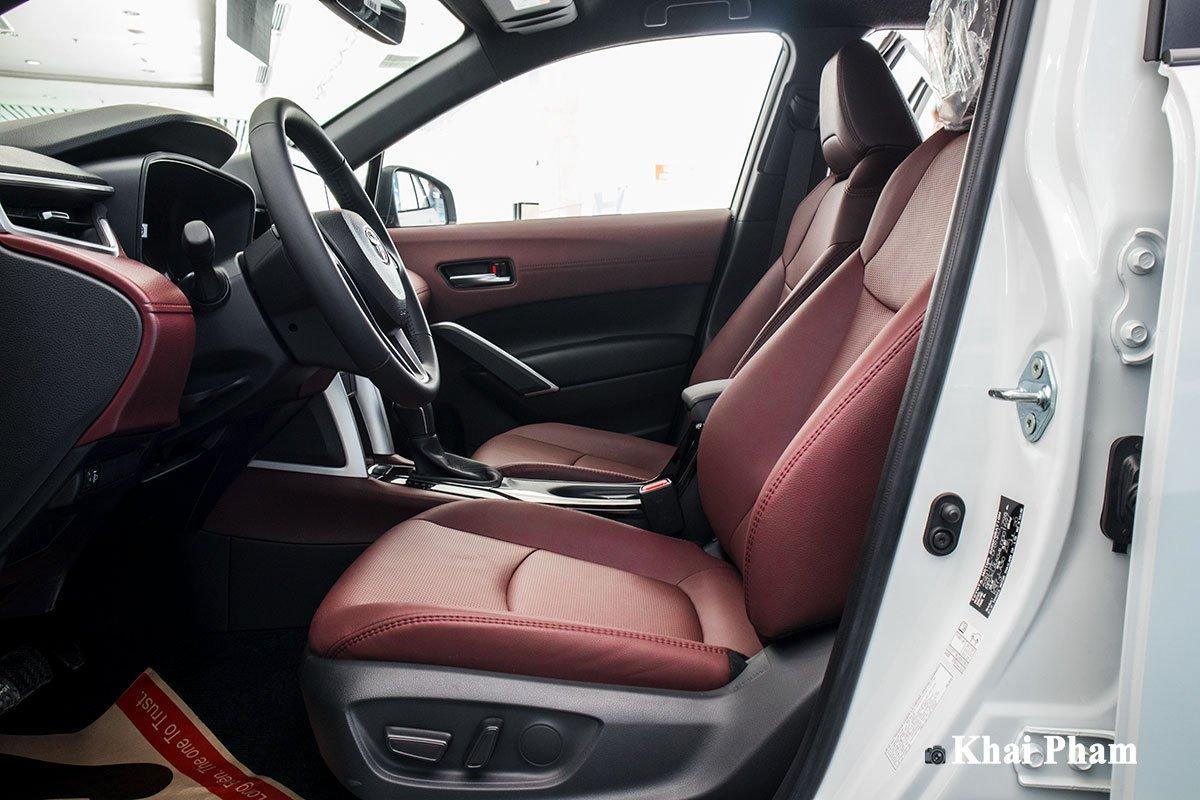 Ảnh Ghế lái xe Toyota Corolla Cross 1.8G 2020