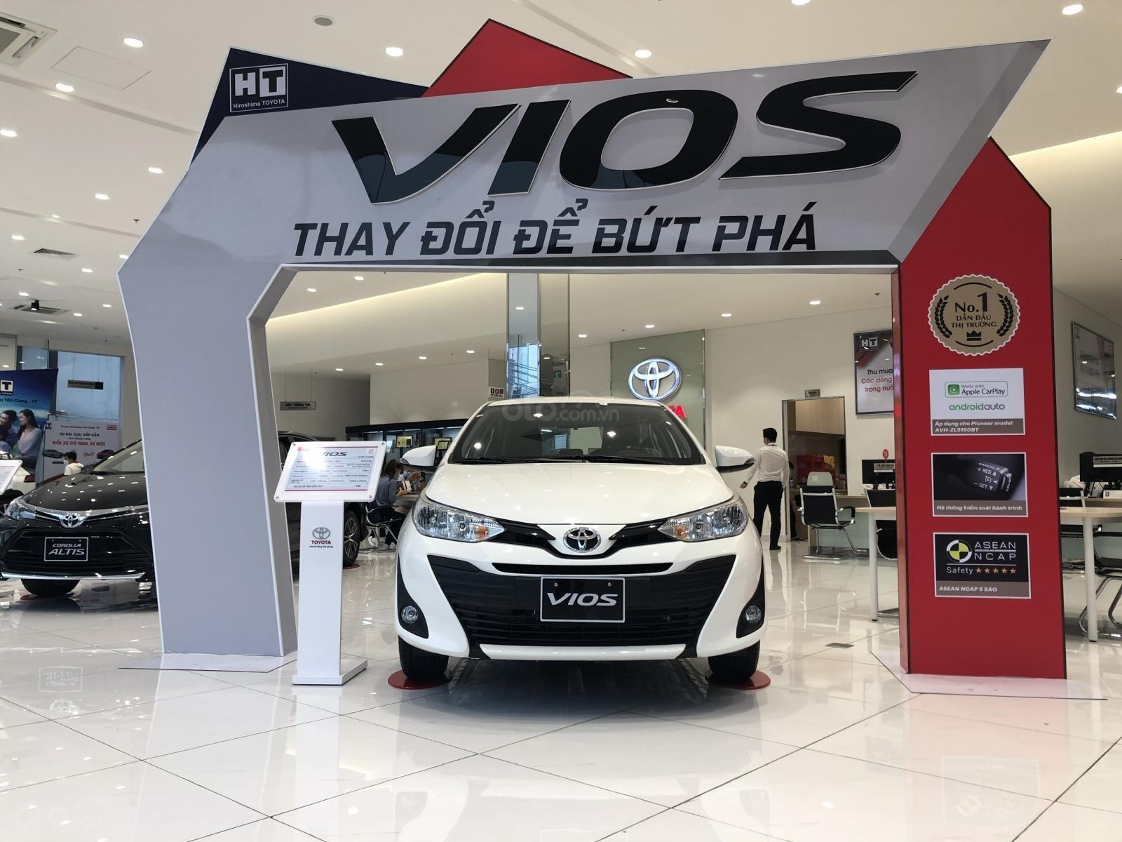 Toyota Vios 2020 khuyến mãi sốc, chỉ 130 triệu nhận xe, đủ màu giao ngay (2)