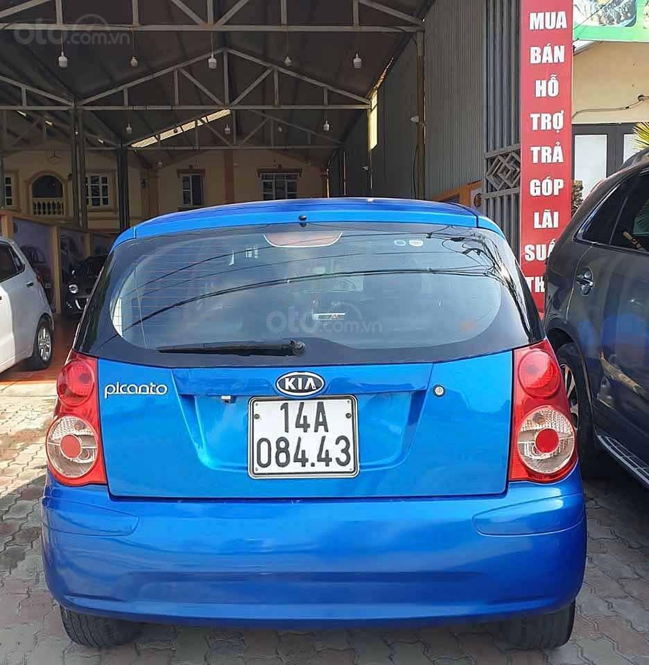 Bán xe Kia Picanto đời 2007, màu xanh lam, nhập khẩu nguyên chiếc, giá chỉ 167 triệu (5)