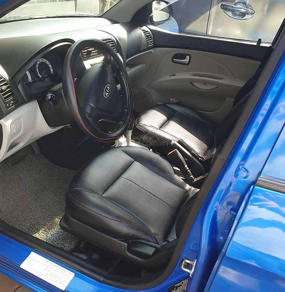 Bán xe Kia Picanto đời 2007, màu xanh lam, nhập khẩu nguyên chiếc, giá chỉ 167 triệu (2)