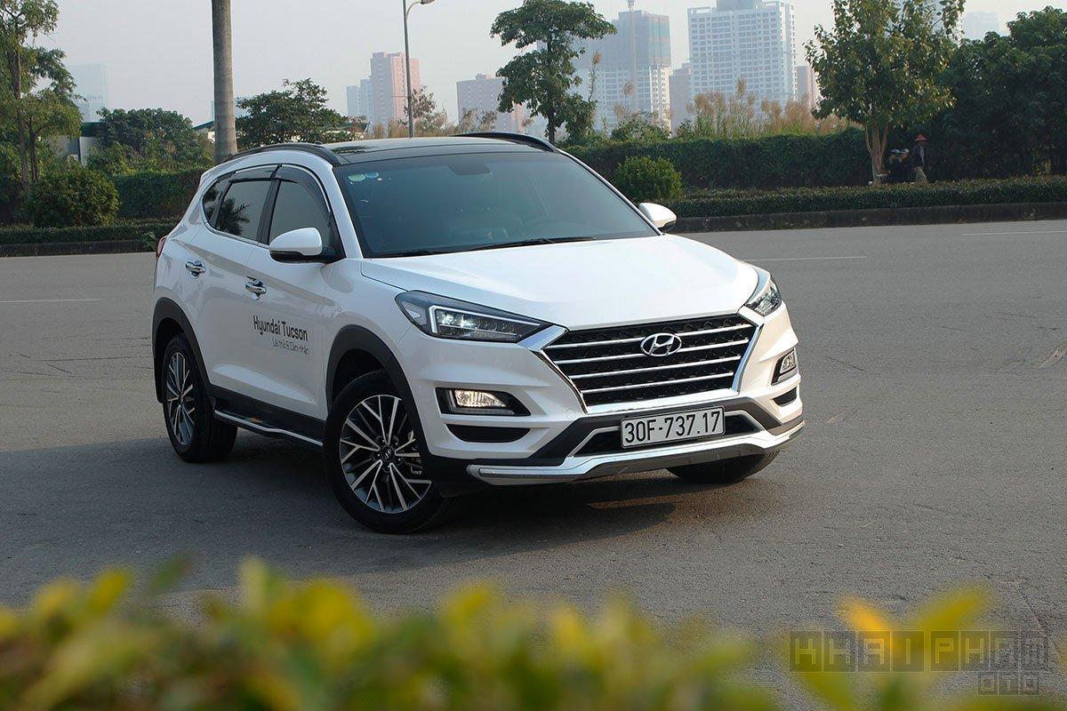 Hyundai Tucson tiết kiệm nhiên liệu nhất phân khúc CUV tại Việt Nam 1