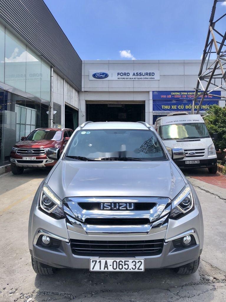Bán Isuzu Dmax 2018, màu bạc, xe nhập, số tự động (1)