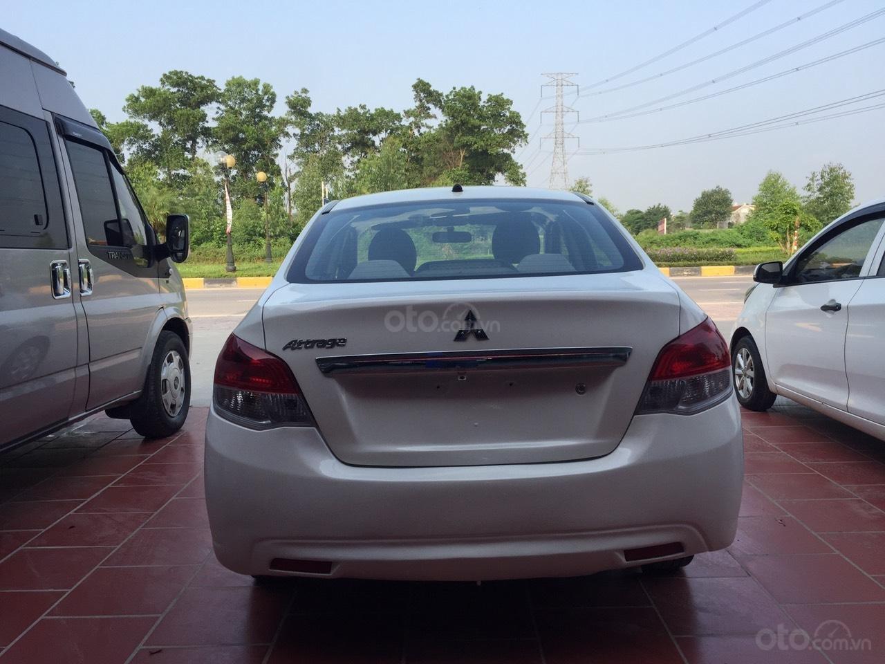 Bán ô tô Mitsubishi Attrage đời 2015, giá 200tr xe đẹp long lanh như mới (6)