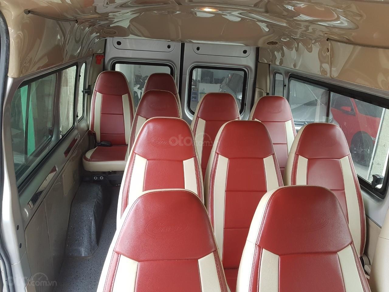Bán xe Ford Transit 2013, đăng ký 2014, xe chỉ đưa đón học sinh, không chạy tuyến, giá 310tr (6)