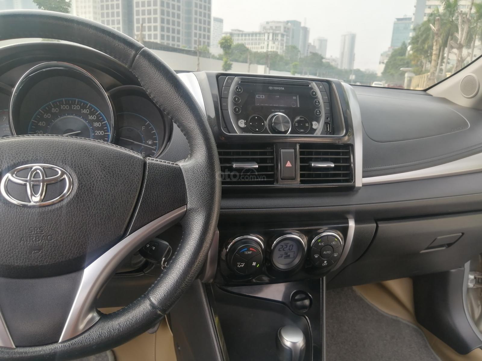Toyota Mỹ Đình - trung tâm xe đã qua sử dụng - cần bán Toyota Vios đời 2014, 419tr (7)