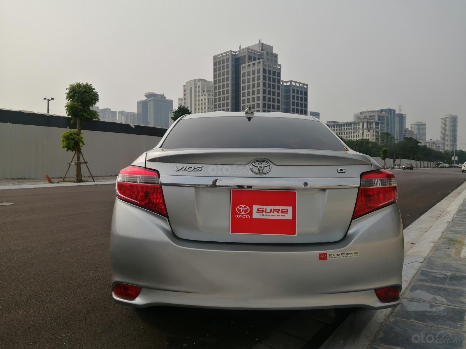Toyota Mỹ Đình - trung tâm xe đã qua sử dụng - cần bán Toyota Vios đời 2014, 419tr (3)