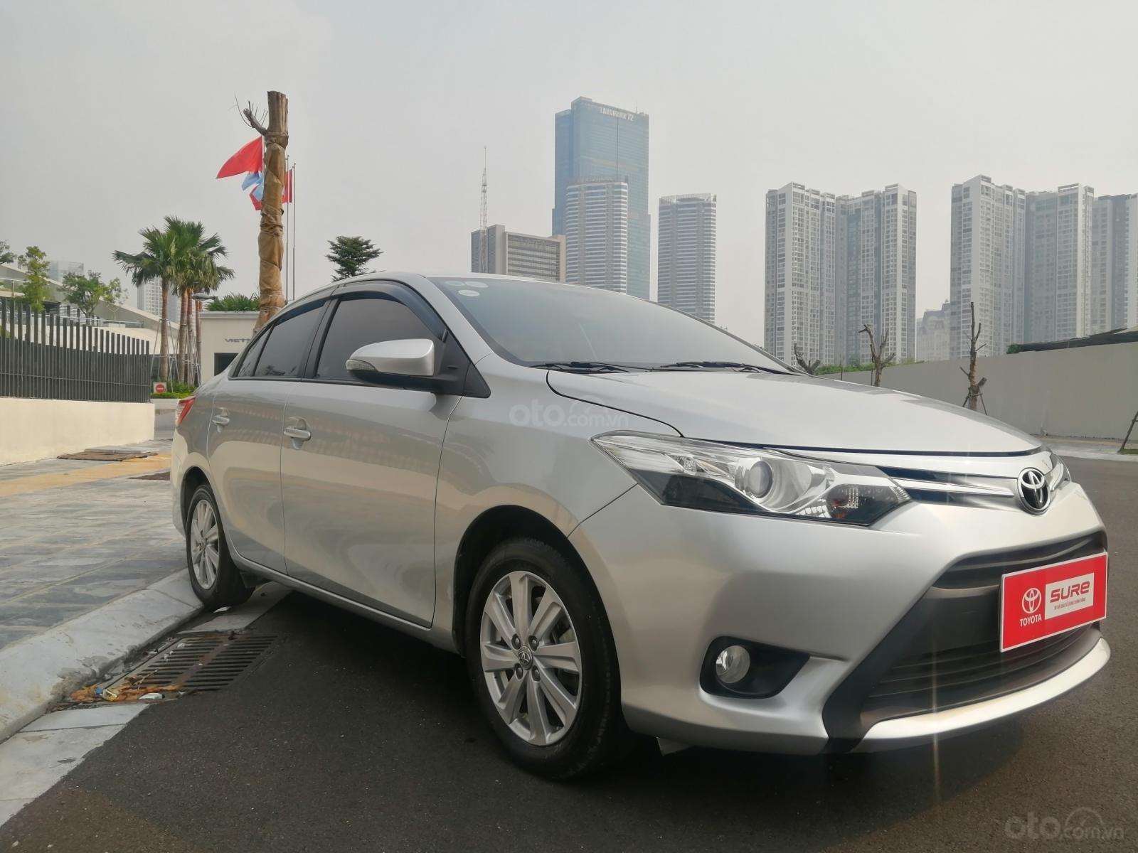 Toyota Mỹ Đình - trung tâm xe đã qua sử dụng - cần bán Toyota Vios đời 2014, 419tr (2)