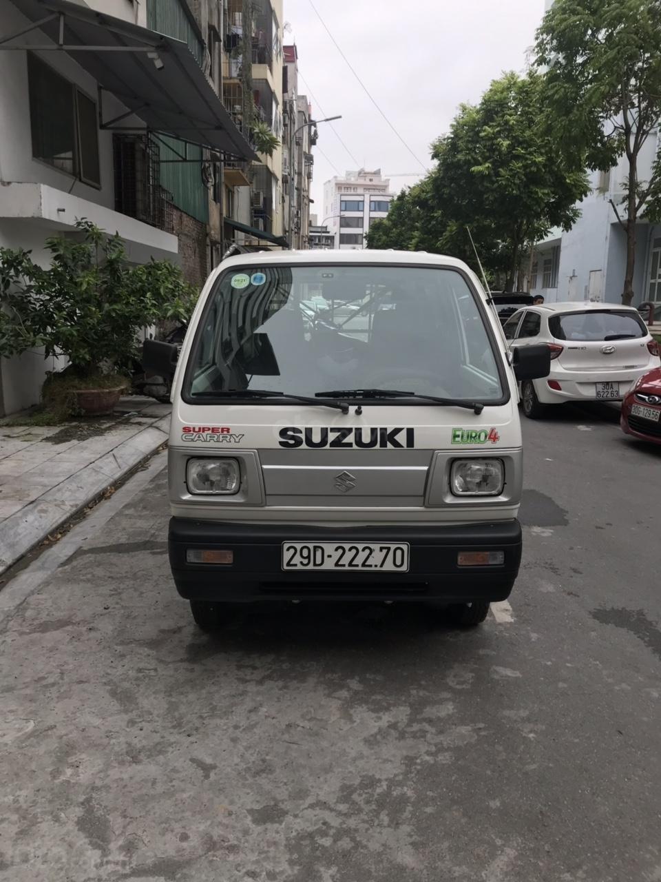 Cực hot Suzuki tải Van siêu lướt 2019 biển Hà Nội (1)