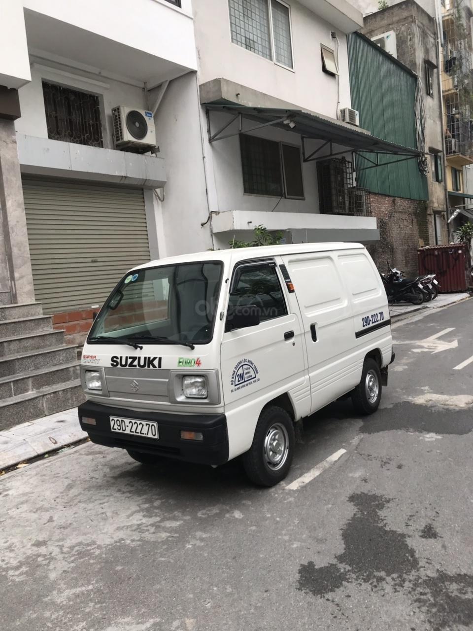 Cực hot Suzuki tải Van siêu lướt 2019 biển Hà Nội (2)