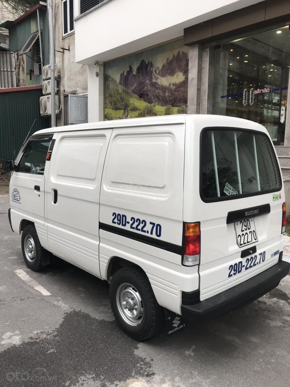 Cực hot Suzuki tải Van siêu lướt 2019 biển Hà Nội (4)