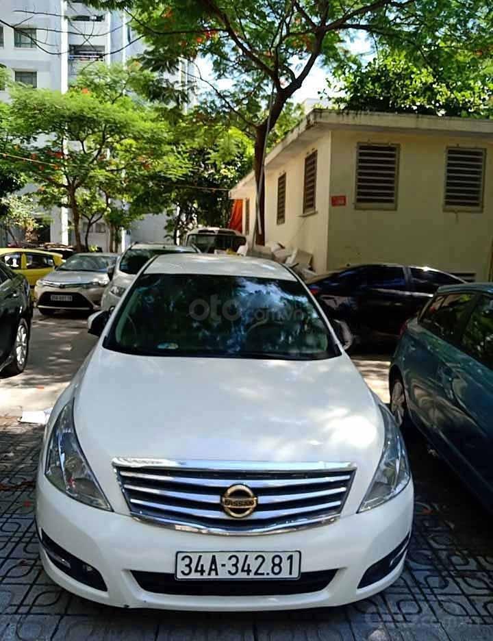 Bán Nissan Teana đời 2010, màu trắng, nhập khẩu nguyên chiếc (1)