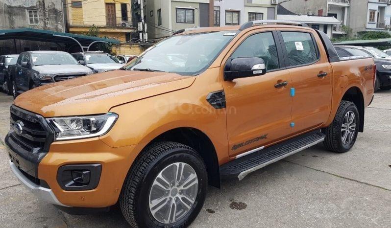 Xe Ford Ranger Wildtrak 2.0L 4x4 AT 2020, màu cam (1)