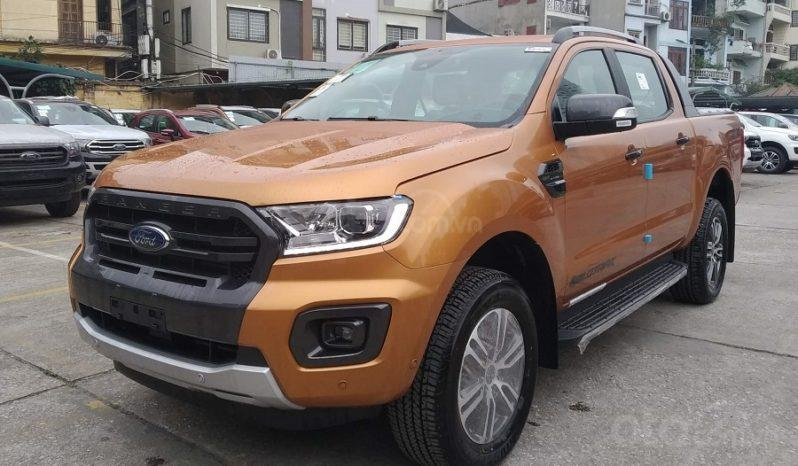 Xe Ford Ranger Wildtrak 2.0L 4x4 AT 2020, màu cam (4)
