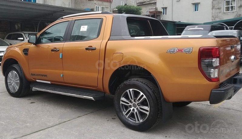 Xe Ford Ranger Wildtrak 2.0L 4x4 AT 2020, màu cam (6)