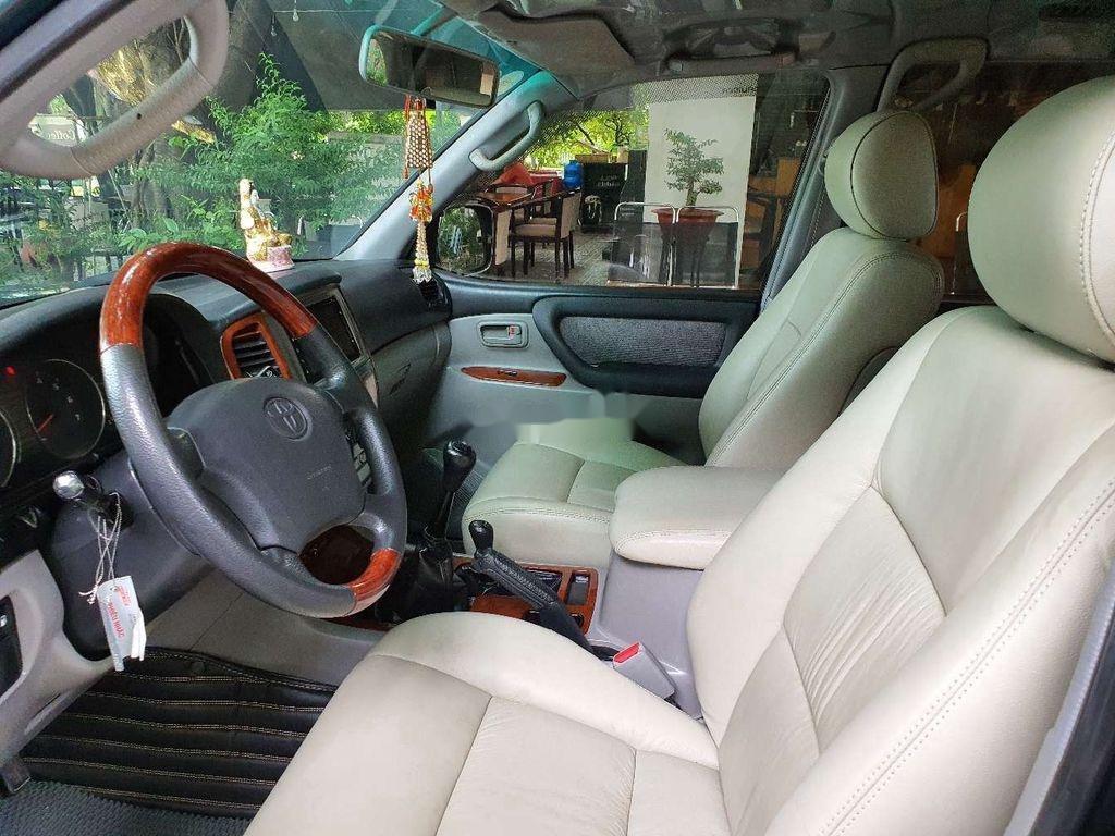 Bán Toyota Land Cruiser đời 2003, màu xanh lục, xe gia đình  (7)