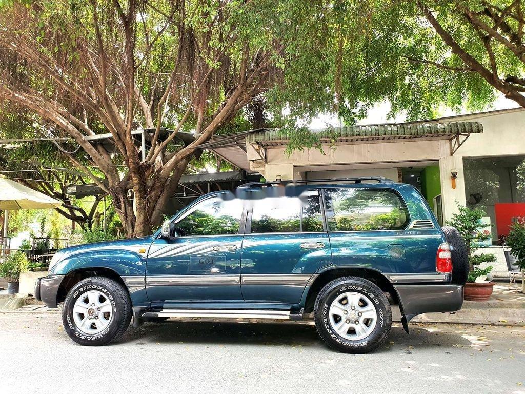 Bán Toyota Land Cruiser đời 2003, màu xanh lục, xe gia đình  (2)