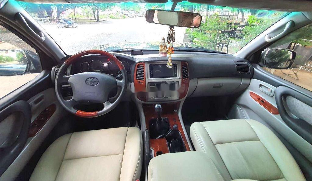 Bán Toyota Land Cruiser đời 2003, màu xanh lục, xe gia đình  (6)