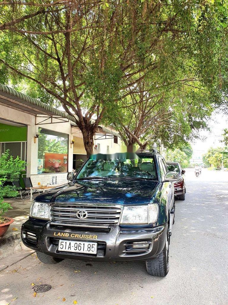 Bán Toyota Land Cruiser đời 2003, màu xanh lục, xe gia đình  (11)