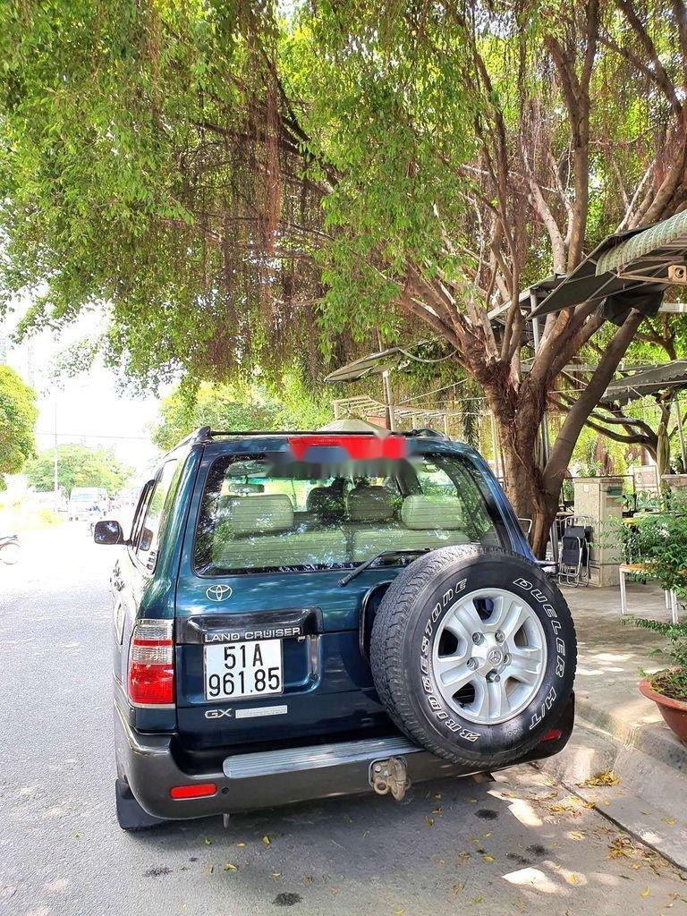 Bán Toyota Land Cruiser đời 2003, màu xanh lục, xe gia đình  (12)