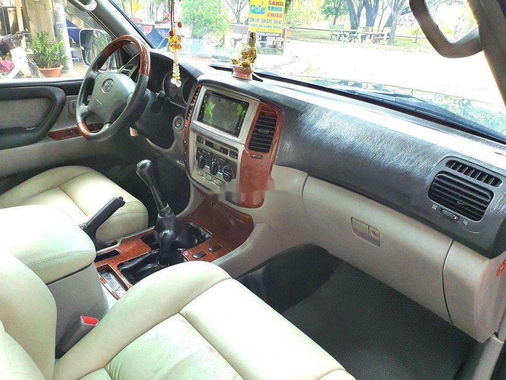 Bán Toyota Land Cruiser đời 2003, màu xanh lục, xe gia đình  (9)
