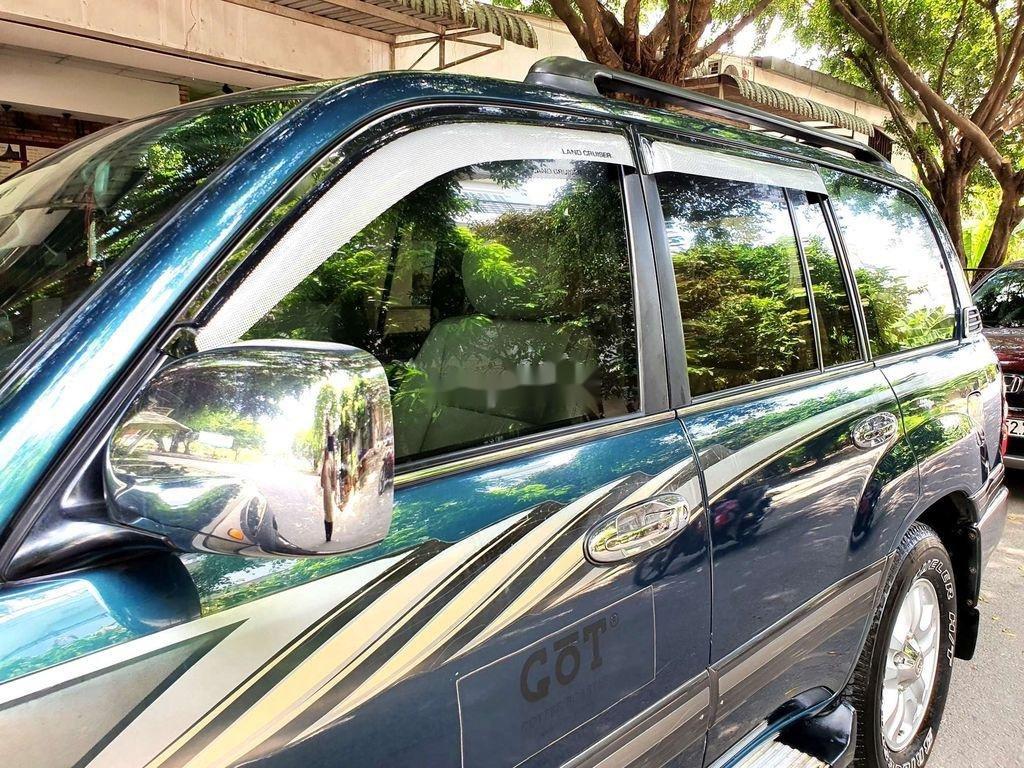 Bán Toyota Land Cruiser đời 2003, màu xanh lục, xe gia đình  (3)
