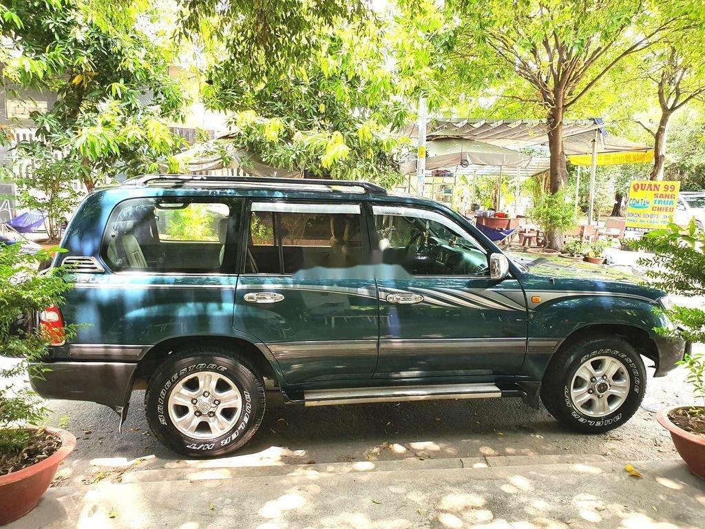 Bán Toyota Land Cruiser đời 2003, màu xanh lục, xe gia đình  (1)