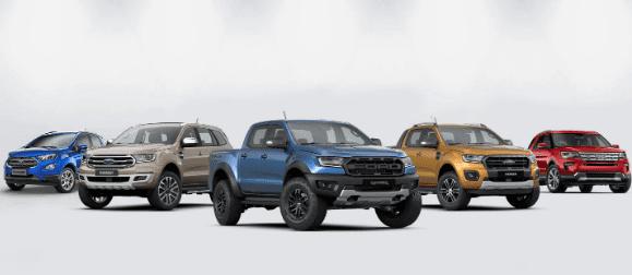 Giá xe Ford 2020