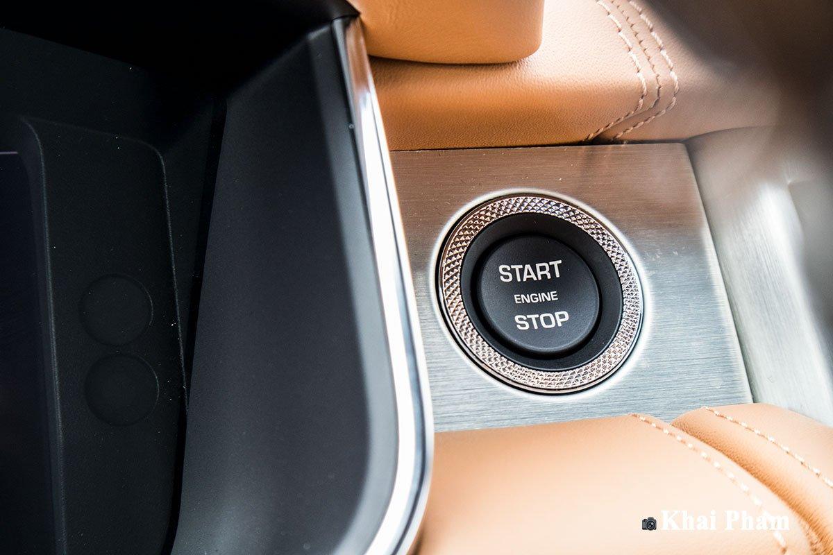 Ảnh Nút khởi động xe Range Rover SVAutobiography 2020 a1