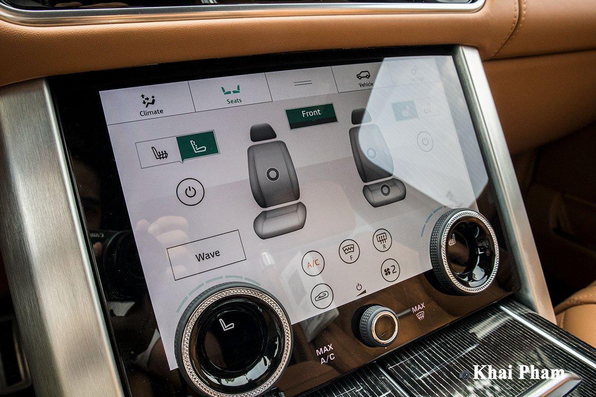 Ảnh Chỉnh ghế xe Range Rover SVAutobiography 2020 a1