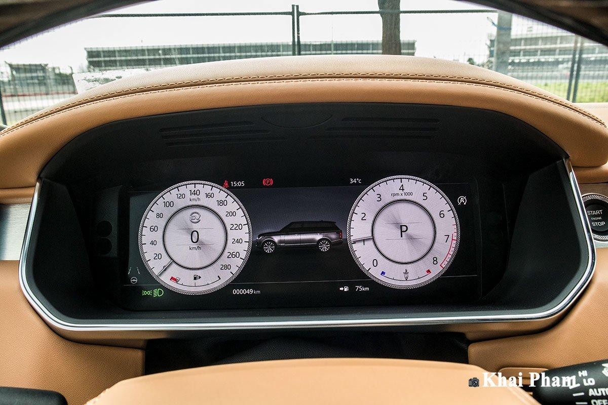 Ảnh Cụm đồng hồ xe Range Rover SVAutobiography 2020