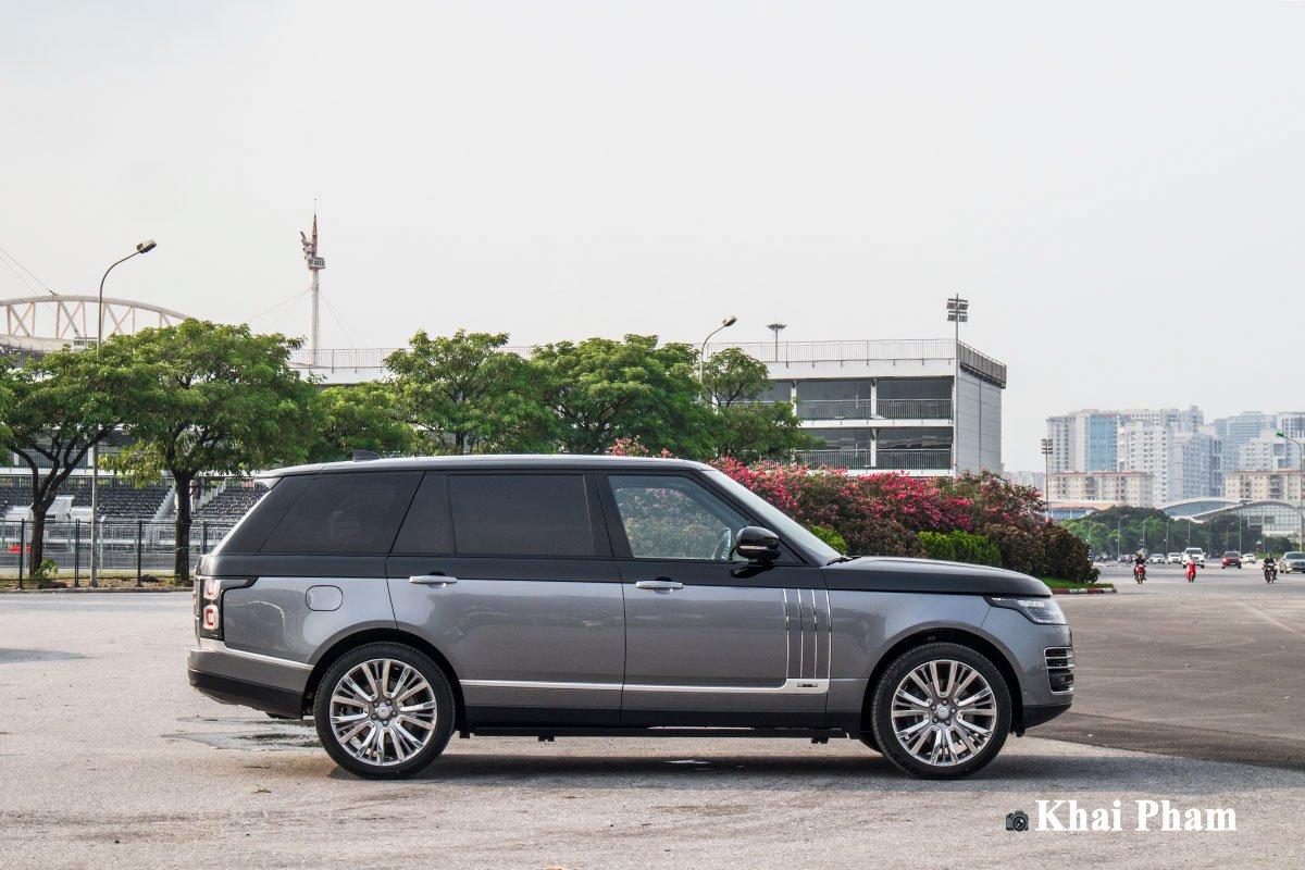 Ảnh Thân xe xe Range Rover SVAutobiography 2020