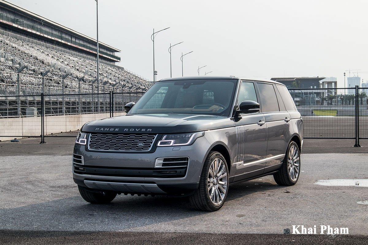 Ảnh Tổng quát xe Range Rover SVAutobiography 2020