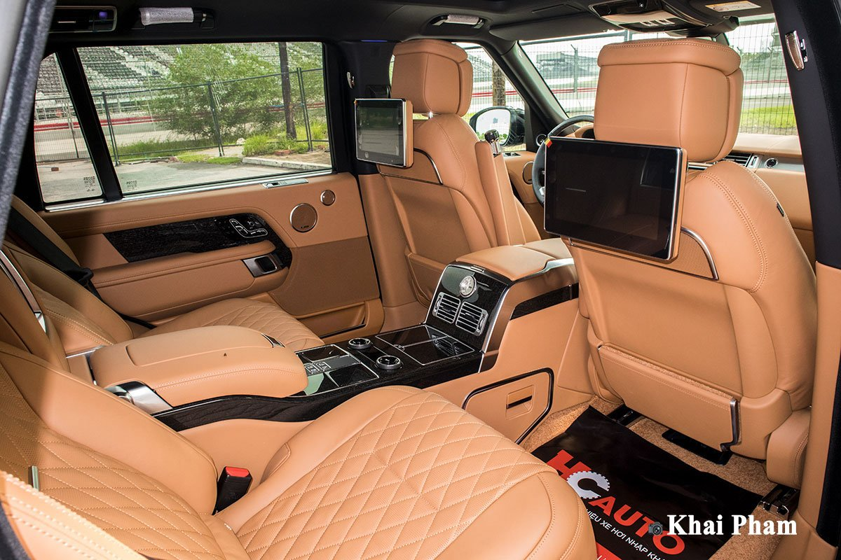 Ảnh Ghế sau xe Range Rover SVAutobiography 2020