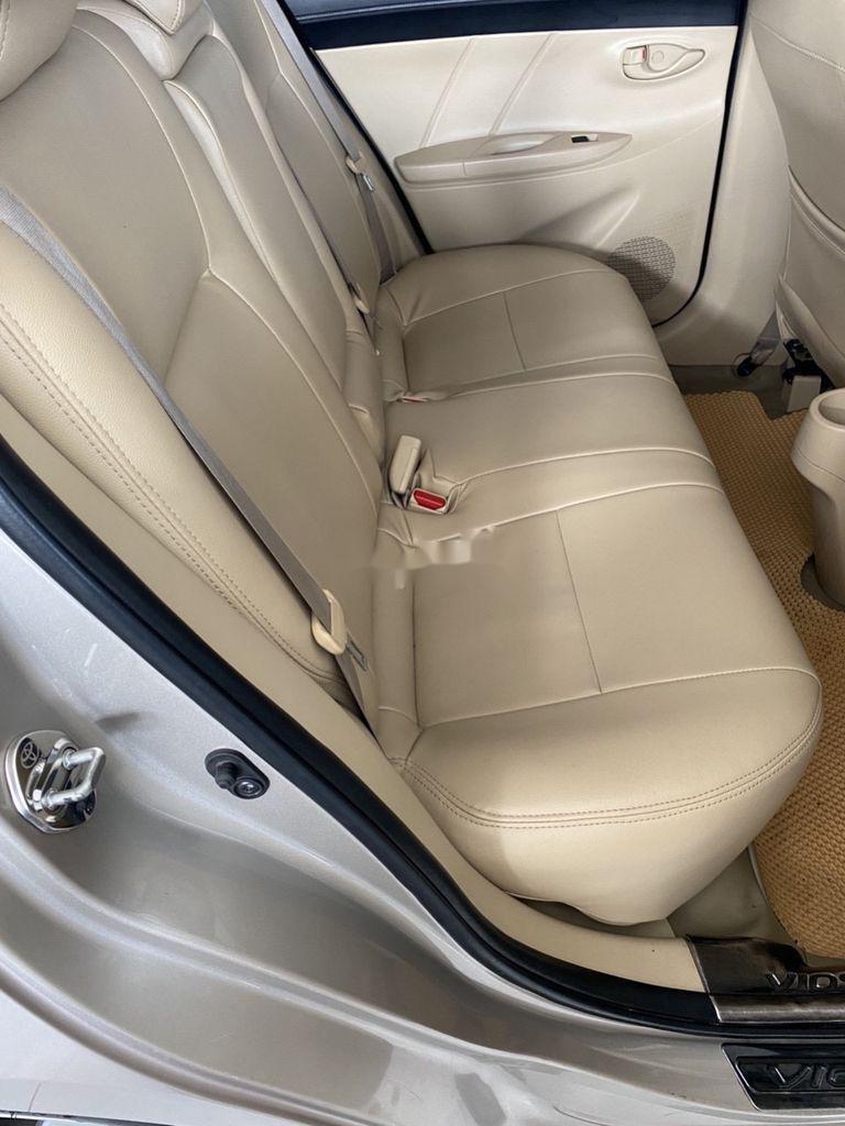 Bán xe Toyota Vios đời 2016, màu vàng cát (2)